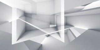 Il fondo astratto, 3d digitale rende l'illustrazione Fotografie Stock