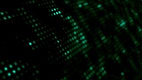 Il fondo astratto generato da computer del retro pixel, 3D rende il contesto, griglia come primo piano dell'immagine del giornale illustrazione di stock