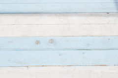 Il fondo blu e bianco, tema marino ha dipinto il bordo fotografia stock