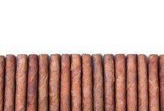 Il fondo da sistema dei sigari Fotografie Stock Libere da Diritti