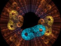 Il fondo dei batteri rende Fotografia Stock Libera da Diritti