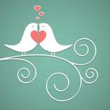 Il fondo del biglietto di S. Valentino. Immagine Stock Libera da Diritti