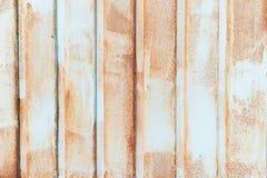 Il fondo del metallo arrugginito del metallo del ferro della ruggine e la struttura strutturati e vecchi, metallo hanno corroso l fotografia stock