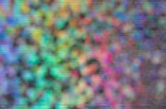 Il fondo dell'estratto dell'arcobaleno di Bokeh con l'impulso errato delle bande allinea Immagine Stock