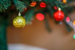 Il fondo della cartolina di Natale di festa dice la gioia Immagini Stock