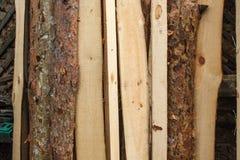 Il fondo di legno di struttura, vecchi pannelli di legno si chiude su Immagine strutturata della retro annata di lerciume Bande v Immagini Stock Libere da Diritti