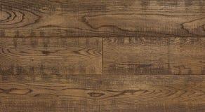 Il fondo di legno per progettazione, quercia di struttura ha tonificato il bordo antiquato dei graffi Immagine Stock Libera da Diritti