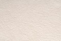 Un fondo bianco di struttura è dal tessuto a spugna. Fotografia Stock