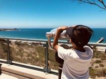 Il fondo di vacanza di famiglia di divertimento dell'estate scherza il viaggio immagini stock libere da diritti