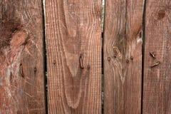 Il fondo di vecchi bordi graffiati della plancia ha battuto densamente insieme Fotografie Stock Libere da Diritti