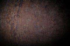 Il fondo di vecchia padella del metallo modificato Fotografia Stock