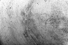 Il fondo di vecchia padella del metallo modificato Fotografie Stock Libere da Diritti