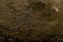 Il fondo di vecchia padella della ghisa modificato Immagine Stock