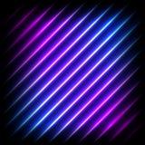 Il fondo diagonale al neon variopinto, vector l'illustrazione astratta royalty illustrazione gratis