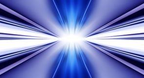 Il fondo futuristico gradisce il tunnel Fotografie Stock