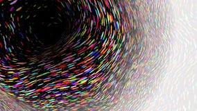 Il fondo a grande schermo, struttura del grano, vector l'illustrazione astratta Fotografia Stock Libera da Diritti