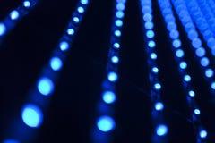 Il fondo ha condotto le lampadine Immagine Stock Libera da Diritti