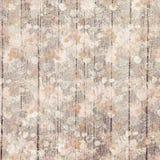 Il fondo legno grungy porpora d'annata e del fiore del grano progetta Fotografia Stock