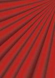 Il fondo luminoso rosso ondulato con rosso del volume rays Fotografia Stock