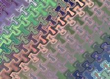Il fondo modellato multicolore di fantasia, 45 gradi si inclina royalty illustrazione gratis
