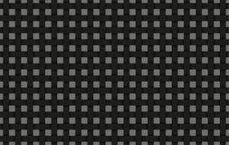 Il fondo nero dell'estratto del tessuto, annerisce la griglia intrecciata Fotografia Stock