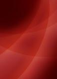 Il fondo nero e rosso astratto con 3d ha curvato le linee d'intersezione Fotografie Stock