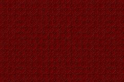 Il fondo rosso e bianco geometrico volumetrico con il profilo espelle effetto royalty illustrazione gratis