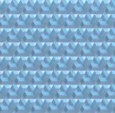 Il fondo senza cuciture geometrico astratto bianco 3D rende Fotografia Stock
