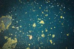 Il fondo struttura l'asfalto senza cuciture e le gocce di pittura fotografia stock