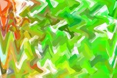 Il fondo strutturato vago regolare variopinto molle pastello astratto fuori dal fuoco ha tonificato nel colore verde Può essere u Immagine Stock