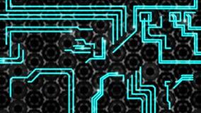 Il fondo technologic astratto, circuito segue le scintille royalty illustrazione gratis