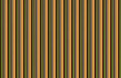 Il fondo variopinto simmetrico, linee brunisce le serie infinite geometriche del modello verde, struttura immagine stock