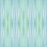 Il fondo verde chiaro e blu spogliato moderno con luce ha impresso le forme del quadrato e di rettangolo Immagini Stock