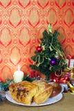 Il forno per il regalo di natale ha decorato il verticale dell'albero Immagini Stock Libere da Diritti