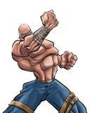 Il forte uomo   Immagini Stock