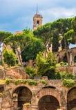 Il forum di Caesar Fotografia Stock Libera da Diritti