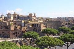 Il forum di Traiano a Roma antica, Italia Immagine Stock Libera da Diritti