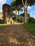 Il forum era il centro di vita quotidiana a Roma immagine stock libera da diritti