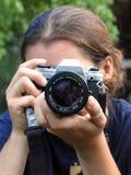 Il fotografo fotografia stock