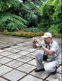 Il fotografo Fotografia Stock Libera da Diritti