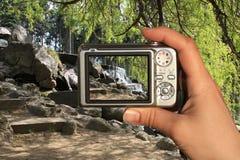 Il fotografo cattura una foto Immagine Stock Libera da Diritti