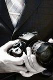 Il fotografo di cerimonia nuziale Fotografia Stock