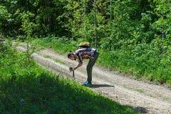 Il fotografo sul lavoro Immagini Stock Libere da Diritti