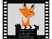 Il Fox nel film illustrazione di stock