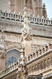 Il frammento della parete designata medioevale Fotografie Stock Libere da Diritti