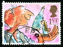 Il francobollo BRITANNICO di BFG illustrazione vettoriale