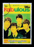 Il francobollo di Beatles Fotografie Stock Libere da Diritti