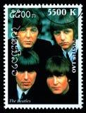 Il francobollo di Beatles Fotografia Stock Libera da Diritti