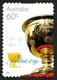 Il francobollo di presidenti Cup Australian Immagine Stock Libera da Diritti
