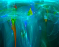 Il frattale dell'estratto brillante rende il ricciolo molle di turbinio della fiamma creativo, modello artistico, l'eleganza, din immagini stock libere da diritti